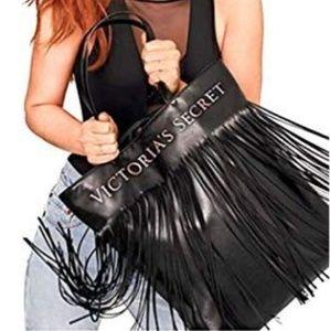 NWT Victoria's Secret Tassle Bag